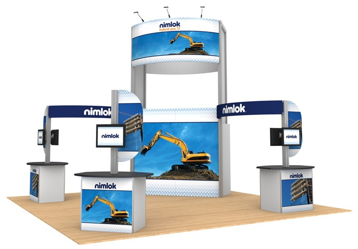 Rental 20ft Hybrid Pro Modular Kit 17 - rental display