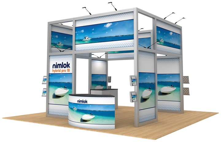 Rental 20ft Hybrid Pro Modular Kit 18 - rental display